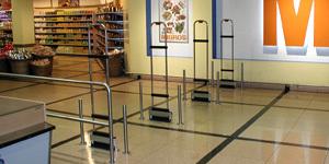 portiques de securite pour supermarche