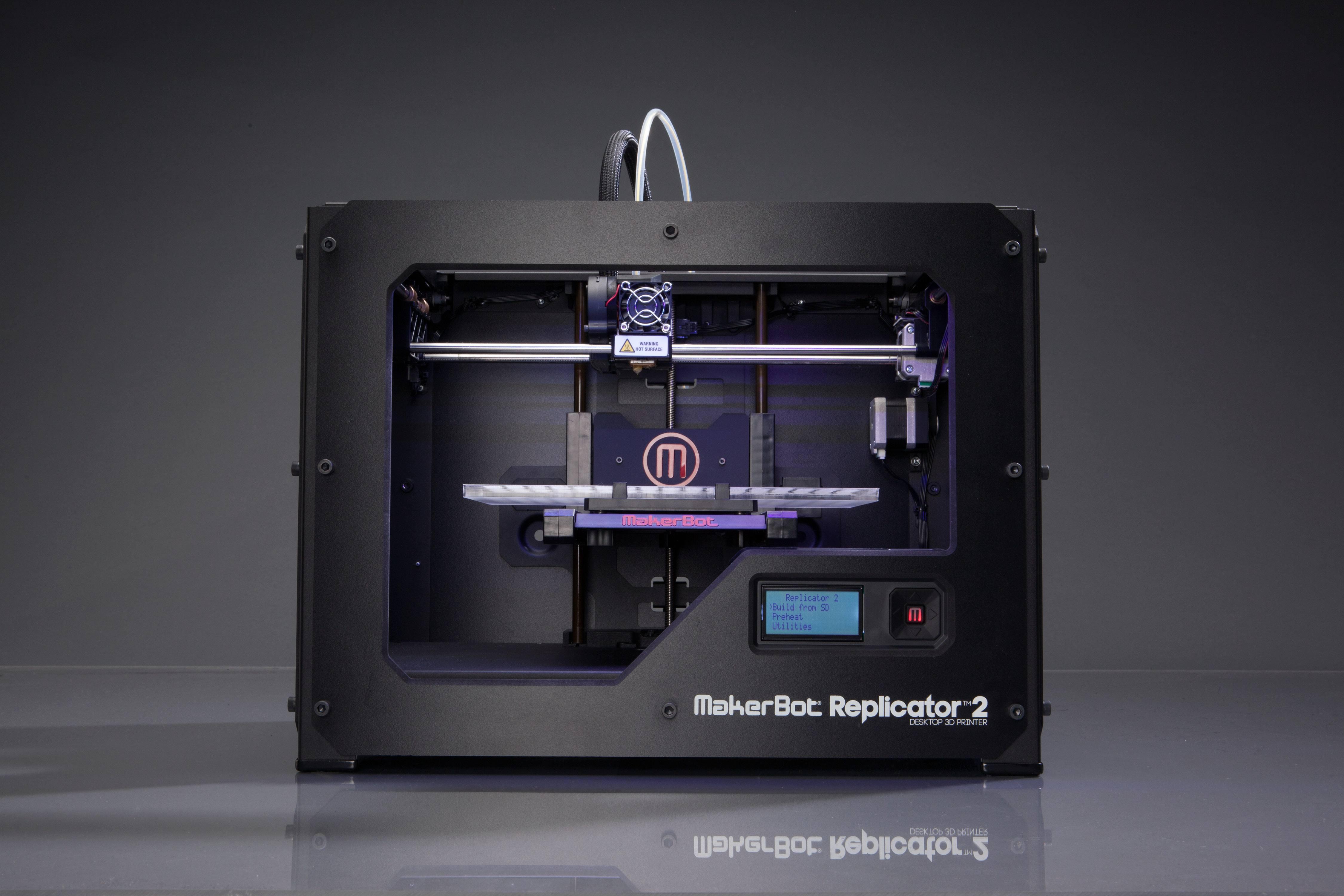 Choisir imprimante 3D : MarketBot Replicator 2