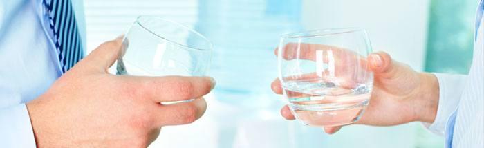 Fontaine à eau en entreprise