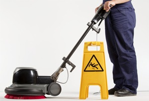 Matériel de nettoyage : monobrosse