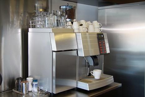distributeur café table top