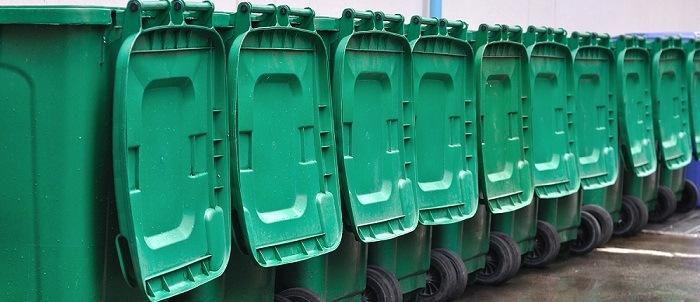 containeur poubelle