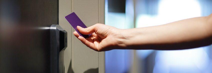 Clé magnétique ou badge solution entreprise