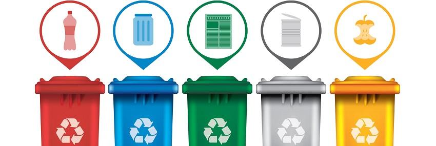 Recyclage des déchets de bureau