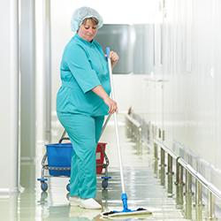 Nettoyage en milieu hospitalier