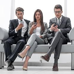 Flotte mobile d'entreprise