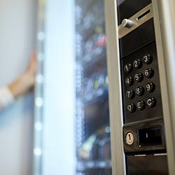 distributeur automatique assortiment de produits