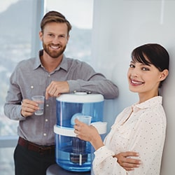où installer fontaine à eau entreprise