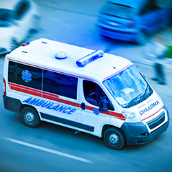 géolocalisation ambulance