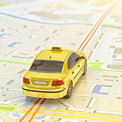 localisation gprs taxi