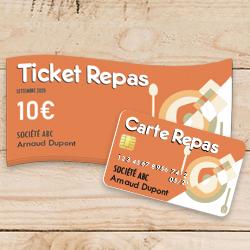 Différence carte ticket restaurant et papier
