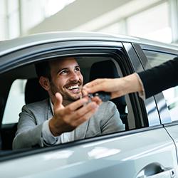 Vente de véhicule d'entreprise