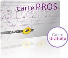 Carte Pros La Poste