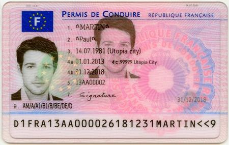 Le nouveau permis de conduire à puce électronique