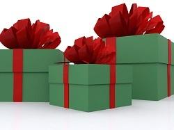 Chèques cadeaux pour Noël