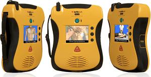 Défibrillateur avec écran vidéo LifeLine VIEW