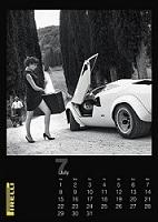Calendrier publicitaire Pirelli