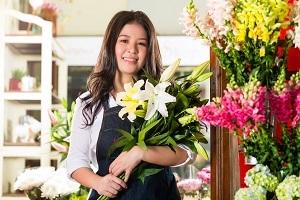 Distributeur automatique de fleurs