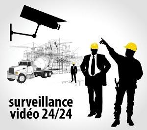 Vidéosurveillance et chantier BTP