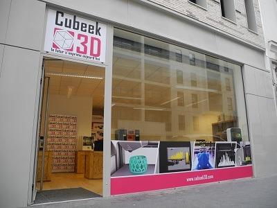 Cubeek3D : premier magasin d'imprimantes 3D à Paris